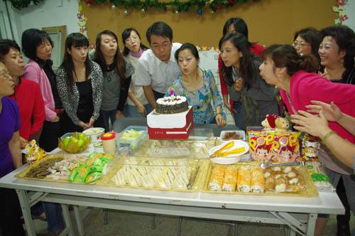 萬華社大樂活肚皮舞社成立慶祝茶會