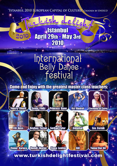 Turkish Delight International Belly Dance festival
